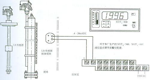 液位传感器接线图解